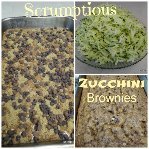 Zucchini Brownie collage- resized
