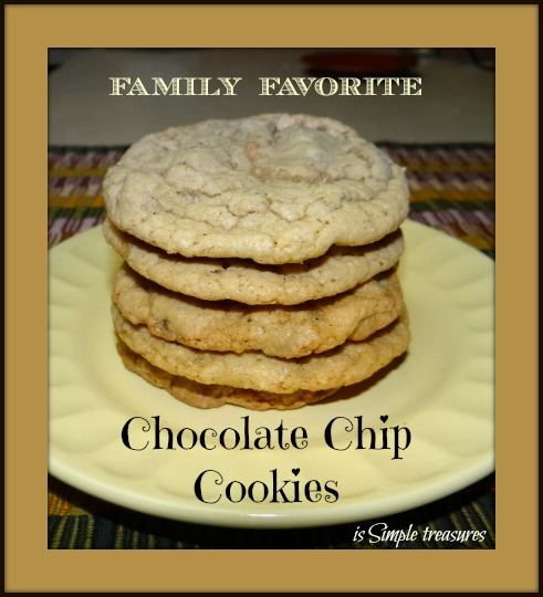 Our Family's Favorite: Chocolate Chip Cookies